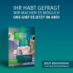 """Abonnement 4 Ausgaben: Fachmagazin """"Der Notfallsanitäter"""""""