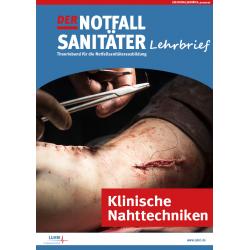 Der Notfallsanitäter Lehrbrief | Klinische Nahttechniken
