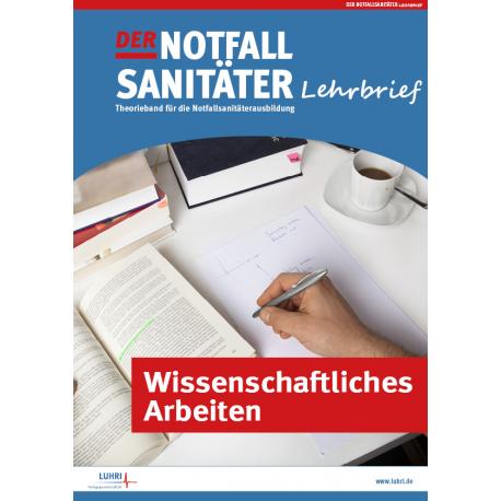 Der Notfallsanitäter fresh up! |Wissenschaftliches Arbeiten
