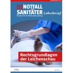 Der Notfallsanitäter fresh up! |Rechtsgrundlagen Leichenschau