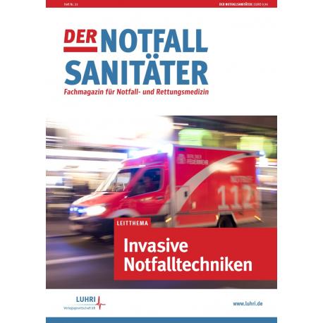 Der Notfallsanitäter | Invasive Notfalltechniken