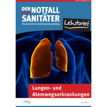 Der Notfallsanitäter Lehrbrief   Lungen- und Atemwegserkrankungen