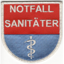 Notfallsanitäter-Wappen (Aufnäher)